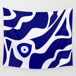 Evil Eye Lava Pattern Wall Tapestry
