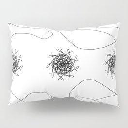 mandalas in maze Pillow Sham