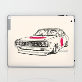 Crazy Car Art 0166 Laptop & iPad Skin
