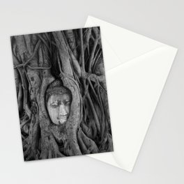 its complicated [square] - vine buddha Stationery Cards