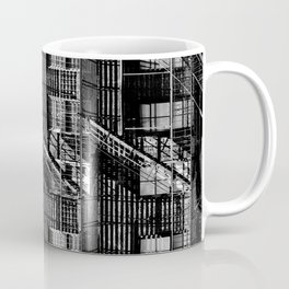 Fire escapes at noon Coffee Mug