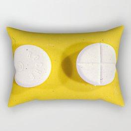 Yellow Rohypnol Rectangular Pillow