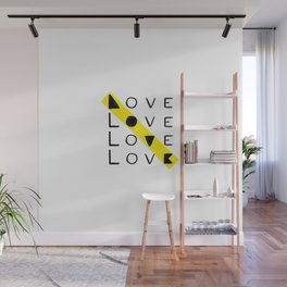 LOVE yourself - others - all animals - our planet Wall Mural