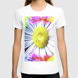 Pink And Yellow Delight T-shirt