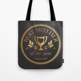 Mother's day golden trophy Tote Bag