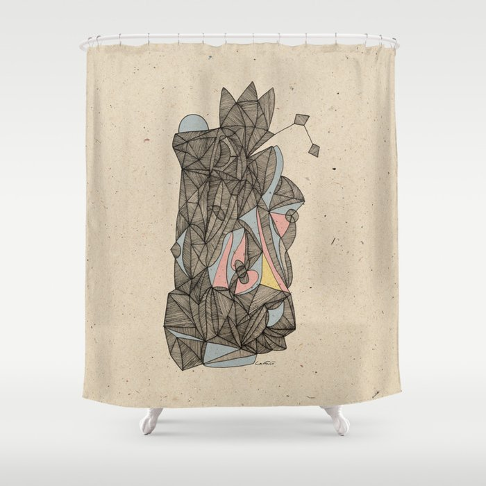 - the plan - Shower Curtain