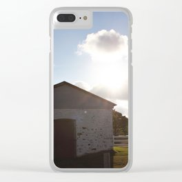 Battery Magazine Clear iPhone Case