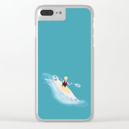 Whitewater Willy Clear iPhone Case