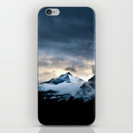 Mountain In Glacier National Park iPhone Skin