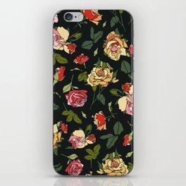 English Rose Garden iPhone Skin