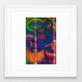 Jewels Framed Art Print