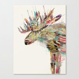 into the wild the moose Leinwanddruck