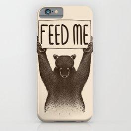 Feed Me Bear iPhone Case