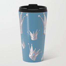 Silver crown Travel Mug