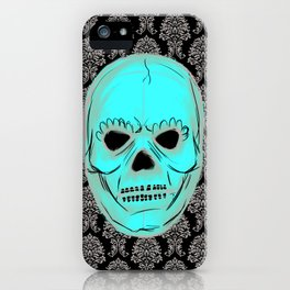 Skull mask iPhone Case