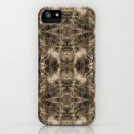 Sepia Light-trails Pattern 807 iPhone Case