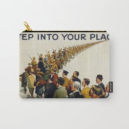 Vintage poster - Step into your place Carry-All Pouch