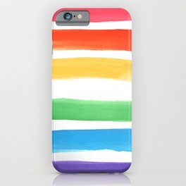 Watercolor Rainbow iPhone Case