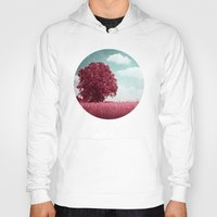 moulin rouge Hoodies featuring ARBRE ROUGE by INA FineArt