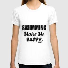 Swimming swimmer female swimmer lifeguard water T-shirt