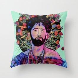 San Curly Throw Pillow