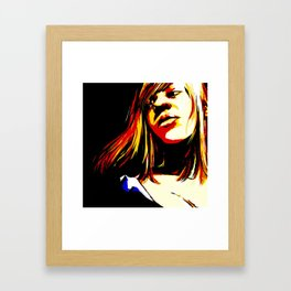Crisis of Man Raw Cover Art Framed Art Print
