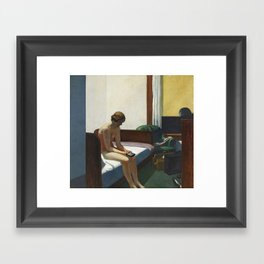 Hotel room Framed Art Print