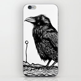 Jovial Raven iPhone Skin
