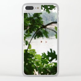 Bathers - 35mm Film Clear iPhone Case