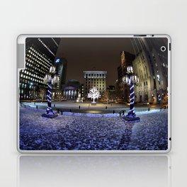 The Perfect City Winter Scene Laptop & iPad Skin