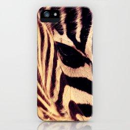 Zazu the Zebra iPhone Case