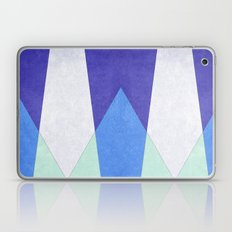 Abstract Purple Blue & Green Laptop & iPad Skin