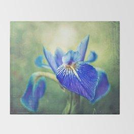 Iris Throw Blanket