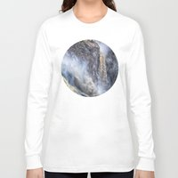 geology Long Sleeve T-shirts featuring The magnificent Barron Falls by Wendy Townrow