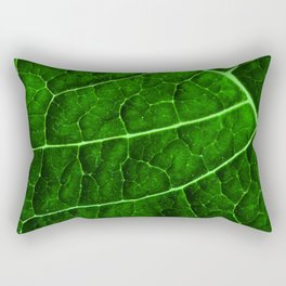 LEAF STRUCTURE GREENERY no2 Rectangular Pillow