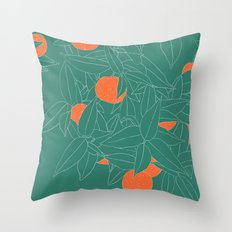 When life gives you oranges... Throw Pillow