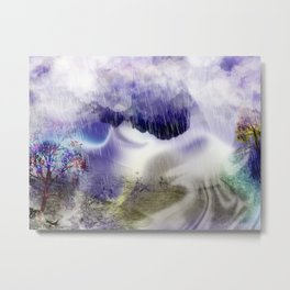 The Effect Metal Print