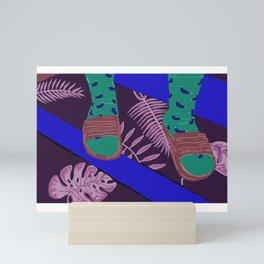 Summer-Socks & Style Inverted 2nd Edition Mini Art Print