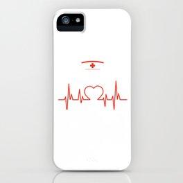 Nurses CNA Medical Health Physician Medic Hospital Gift Being A Nurse Takes Balls iPhone Case