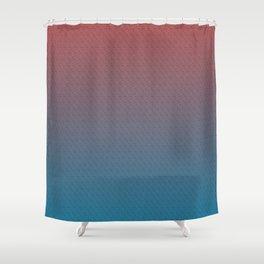 sherbet flicks Shower Curtain