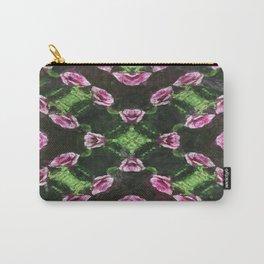 Rosas Moradas 2 Kaleidoscope 14 Carry-All Pouch