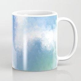 Ocean Vibes Tie Dye Coffee Mug