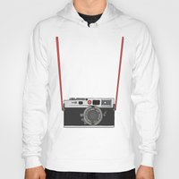 camera Hoodies featuring Camera by Illustrated by Jenny