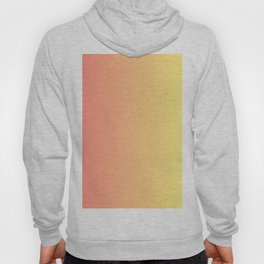 Color gradient 14. red and yellow. abstraction,abstract,minimalism,plain,ombré Hoody