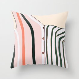 Unbutton Throw Pillow