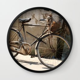 Chinese Old Bike Wall Clock