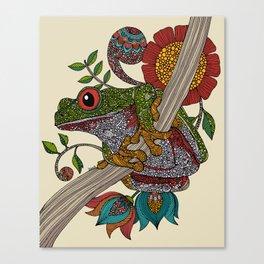 Phileus Frog Canvas Print