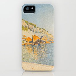 "Paul Signac ""Cassis. Cap Lombard, Opus 196"" iPhone Case"