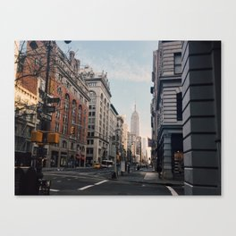 NYC Early Morning Canvas Print