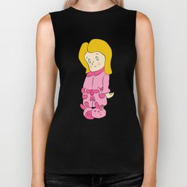 Sorry Little Girl Biker Tank